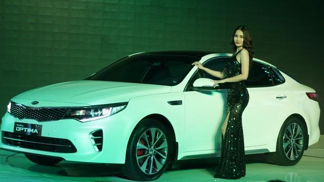 Kia Optima - mẫu xe sedan cao cấp phân khúc D, được đánh giá thành công nhất của KIA trên toàn cầu vừa được Cty CP Ô tô Trường Hải