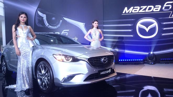 Mazda6 mới năm 2017 chính thức ra mắt tại Việt Nam ngày 11/1
