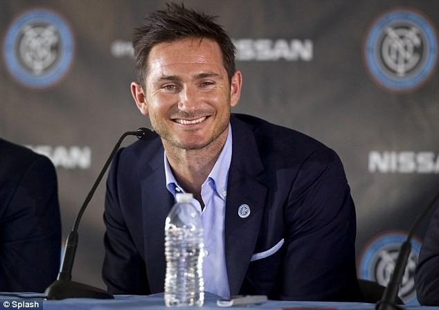Lampard ra mắt đội bóng mới