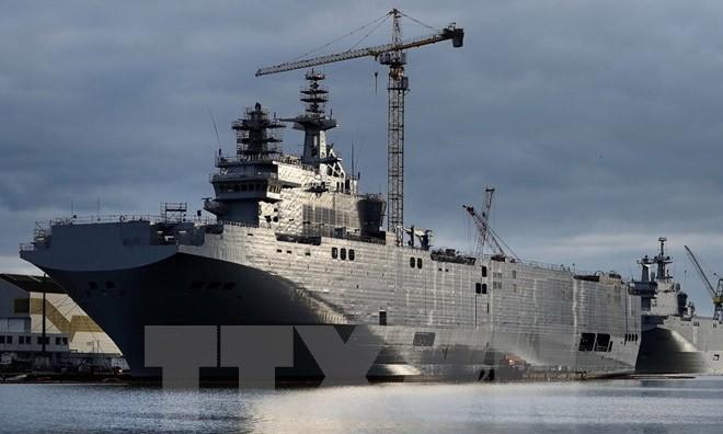 Tàu chiến lớp Mistral