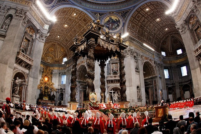 Một buổi lễ ở một nhà thờ thuộc Vatican. (Nguồn: Reuters.com)