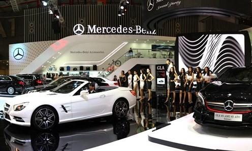 Mercedes tại Việt Nam tăng trưởng nhanh nhất nhì thế giới
