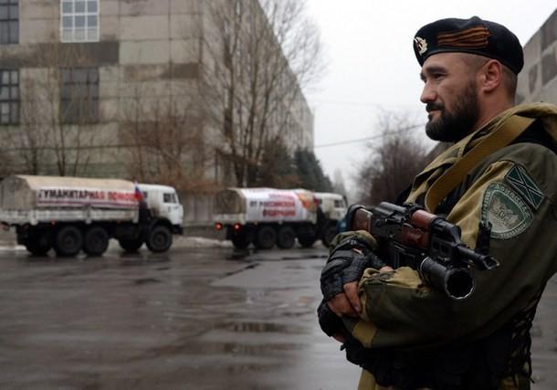 Một tay súng của lực lượng ly khai ở Donetsk. (Nguồn: AFP)