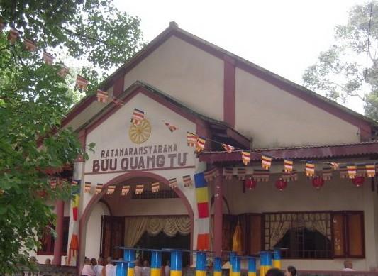 Chùa Bửu Quang, nơi xảy ra vụ việc. Ảnh: baogiaothong.vn