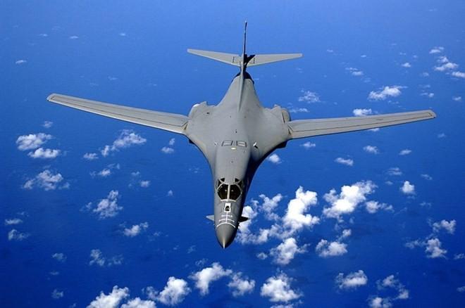 Máy bay ném bom chiến lược B-1B. Nguồn: Wikipedia.