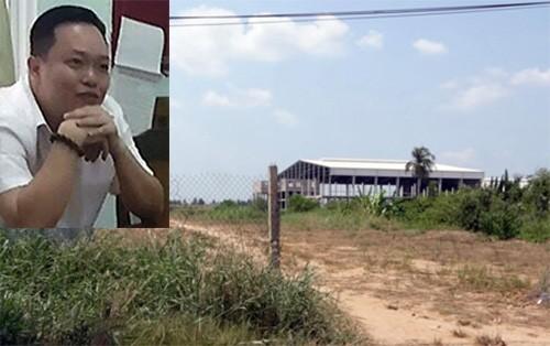 """Nguyễn Huỳnh Đạt Nhân cùng dự án """"đóng băng"""" của mình."""