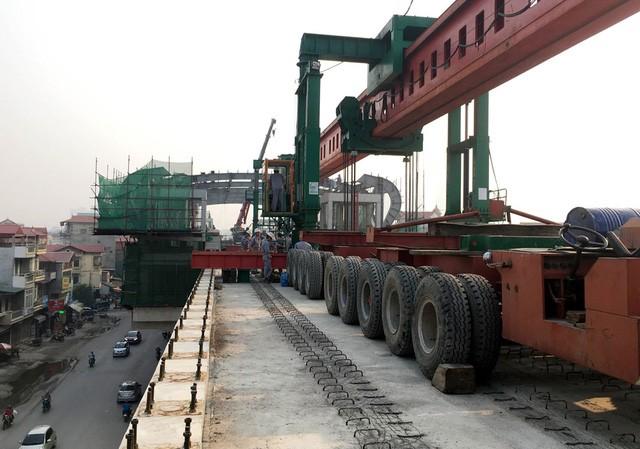 Dự án đường sắt Cát Linh - Hà Đông đặt mốc hoàn thành xây lắp vào cuối năm 2016.