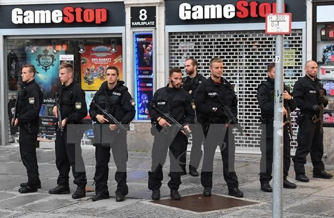 Cảnh sát đặc nhiệm Đức. (Nguồn: EPA/TTXVN)