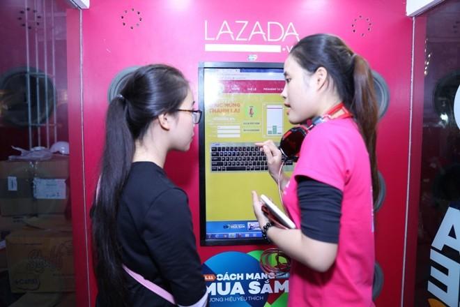 Tương tác âm thanh trong 'Cách mạng mua sắm' của Lazada
