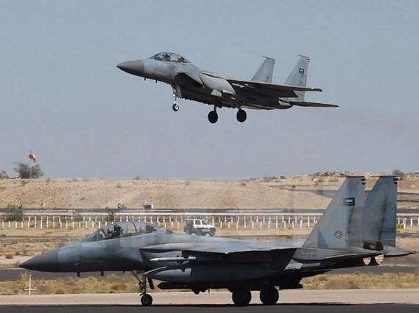 Tiêm kích F-15 của Nhật Bản. (Nguồn: AFP/TTXVN)
