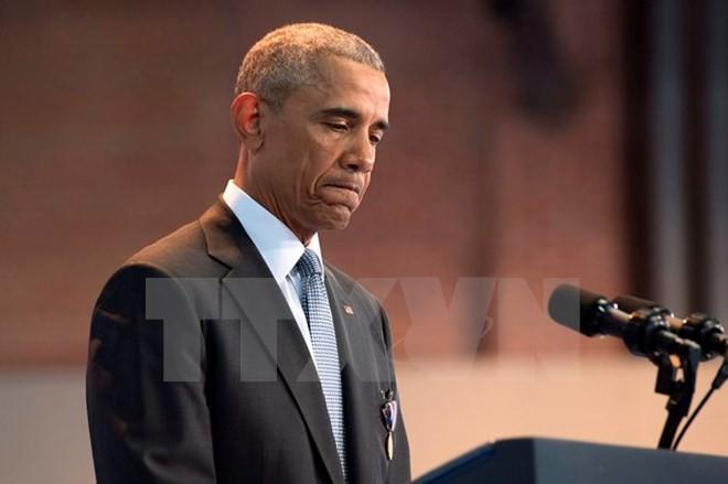 Tổng thống Mỹ Barack Obama. (Nguồn: EPA/TTXVN)