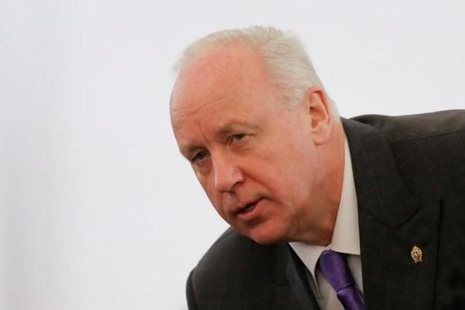 Cố vấn thân cận của Tổng thống Vladimir Putin, ông Alexander Bastrykin. (Nguồn: Reuters)