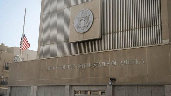 Đại sứ quán Mỹ tại Tel Aviv. (Nguồn: Flash 90)