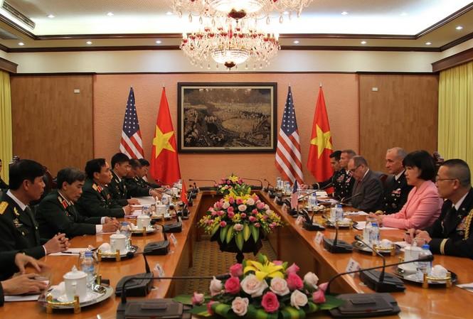 Việt - Mỹ mở rộng hợp tác quốc phòng