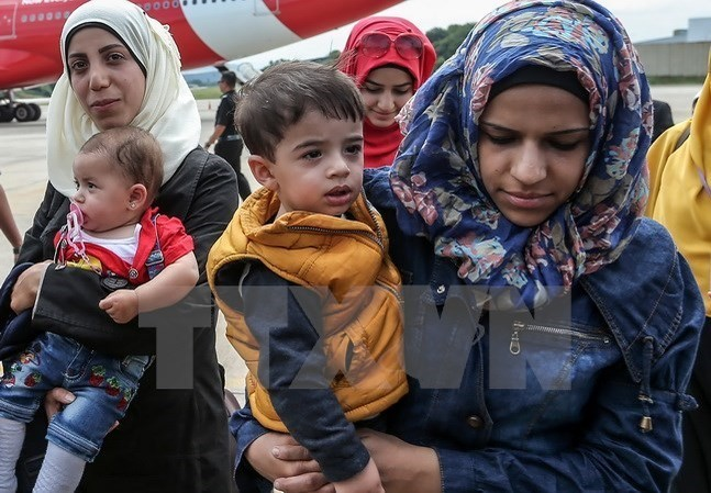 Người tị nạn Syria. (Nguồn: AFP/TTXVN)