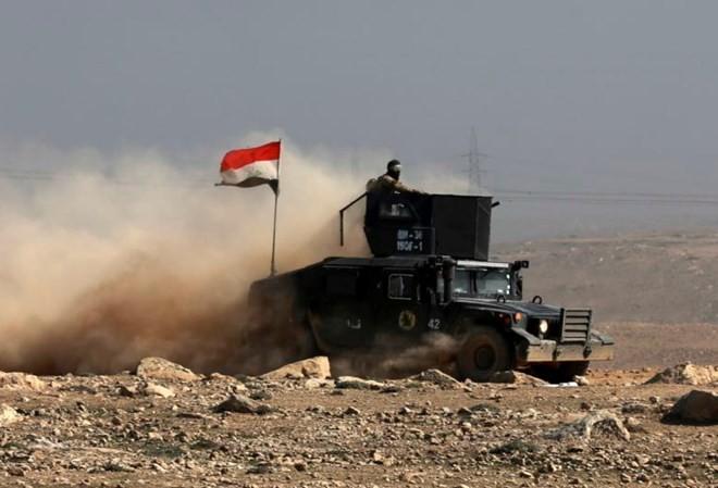 Lực lượng quân đội Iraq tại Mosul. (Nguồn: AP)