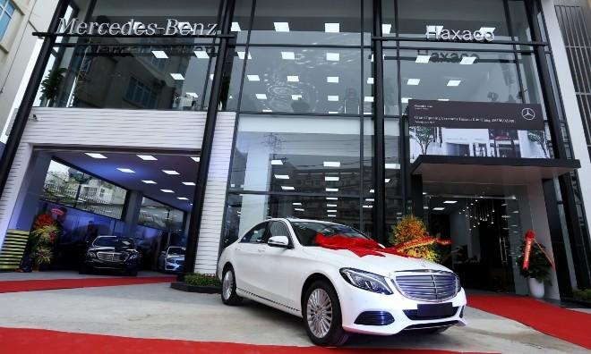 Mercedes-Benz mở thêm showroom tại Hà Nội