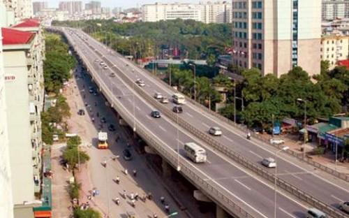 Đường cao tốc vành đai 3 Hà Nội.