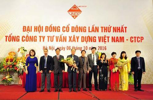 Tổng Công ty Tư vấn Xây dựng Việt Nam (VNCC) ra mắt Ban lãnh đạo mới