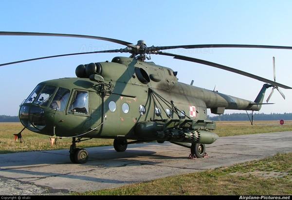 Một chiếc Mi-17 do Nga chế tạo.