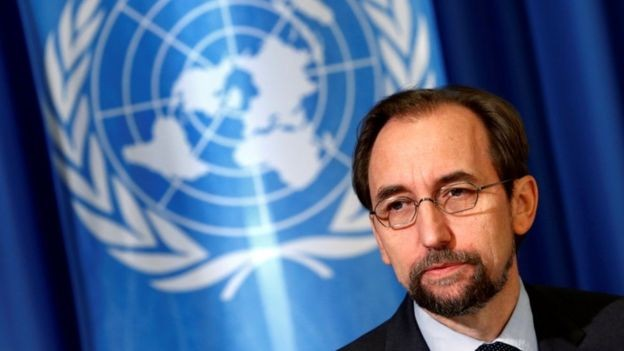 Cao ủy Liên Hợp Quốc về Nhân quyền Zeid Raad al-Hussein.
