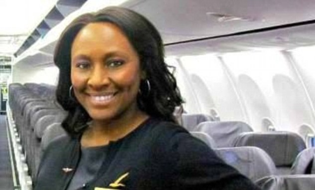 Nữ tiếp viên hàng không Shelia Fedrick.
