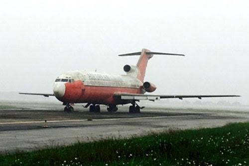 Chiếc máy bay bị bỏ quên 10 năm tại Nội Bài Ảnh: Báo Giao thông