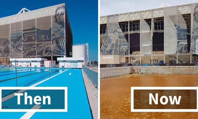 Những gì còn lại sau Olympic Rio 2016 khiến người ta xót xa.