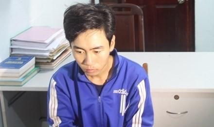 Nghi phạm Lê Văn Lên.
