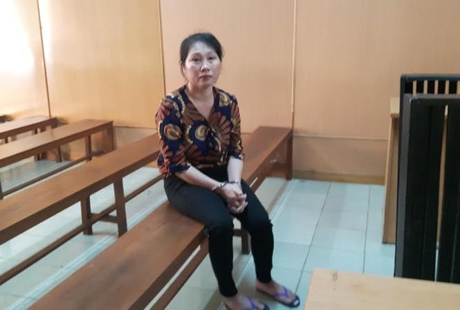 Nguyễn Thị Bình tại tòa ngày 20/2. Ảnh: Tân Châu
