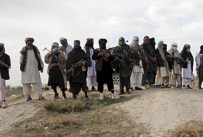 Các tay súng Taliban. Ảnh: Reuters