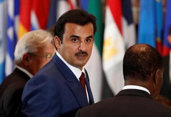 Quốc vương Qatar Sheikh Tamim Bin Hamad al-Thani. Ảnh: Reuters