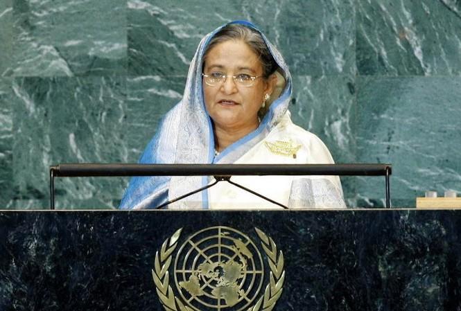 Thủ tướng Bangladesh Sheikh Hasina. Ảnh: Flickr
