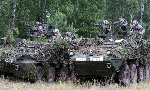 Cuộc diễn tập của NATO tại Ba Lan có quy mô lớn nhất từ trước đến nay. Ảnh minh họa: AFP