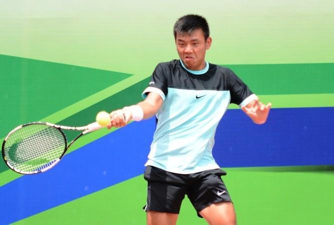 Lý Hoàng Nam có chiến thắng đáng nhớ ở vòng 1 giải Vietnam Open 2016.