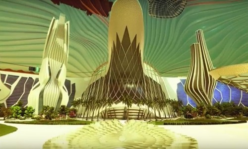 UAE công bố dự án xây dựng một thành phố nhỏ trên sao Hỏa vào năm 2117. Ảnh: GoingViral.