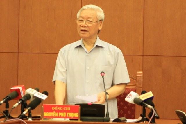 Tổng Bí thư yêu cầu truy bắt Trịnh Xuân Thanh về nước để phục vụ điều tra, xử lý.