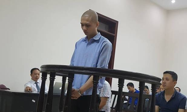 Cao Xuân Quát tại tòa phúc thẩm.