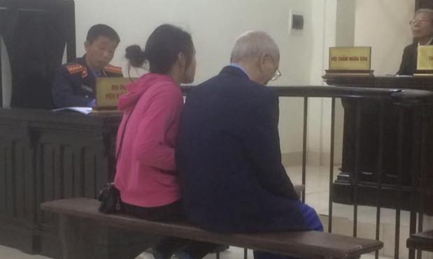 Ông Nguyễn Văn Soi tại tòa.