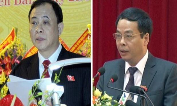 Ông Phạm Duy Cường và Ngô Ngọc Tuấn.