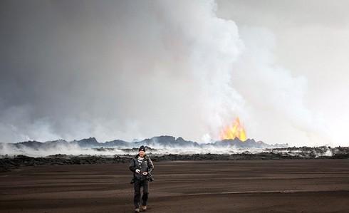 Cận cảnh vẻ đẹp chết chóc của núi lửa thức giấc ở Iceland - ảnh 11