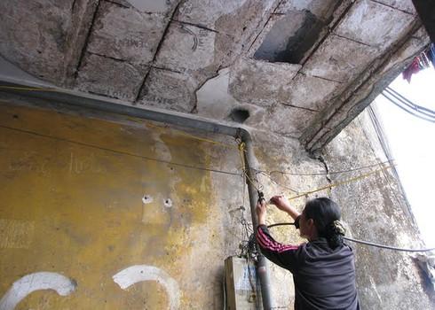 Cận cảnh chung cư 'ổ chuột' ở trung tâm Hạ Long - ảnh 6