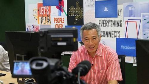 Thủ tướng Singapore 'trả lời chất vấn' người dân qua Facebook - ảnh 2
