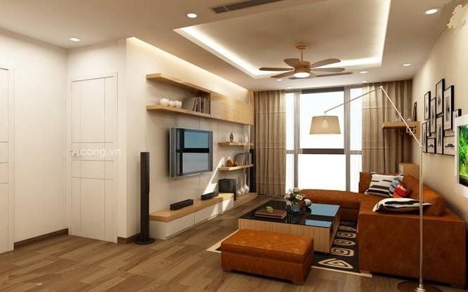 Căn hộ hơn 110m2 thiết kế tiền phòng 'gắn' tủ âm tường - ảnh 3