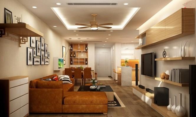 Căn hộ hơn 110m2 thiết kế tiền phòng 'gắn' tủ âm tường - ảnh 5