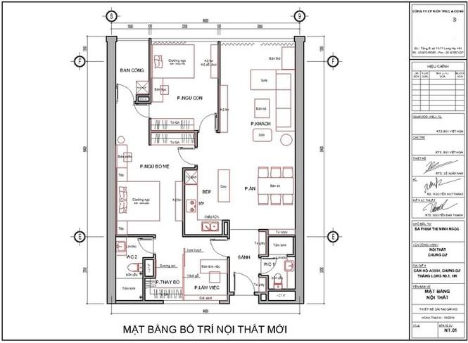 Căn hộ hơn 110m2 thiết kế tiền phòng 'gắn' tủ âm tường - ảnh 7