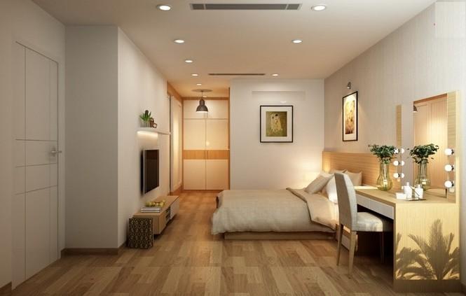 Căn hộ hơn 110m2 thiết kế tiền phòng 'gắn' tủ âm tường - ảnh 12