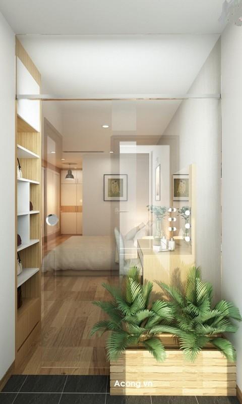 Căn hộ hơn 110m2 thiết kế tiền phòng 'gắn' tủ âm tường - ảnh 13