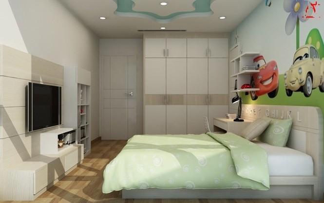 Căn hộ hơn 110m2 thiết kế tiền phòng 'gắn' tủ âm tường - ảnh 19