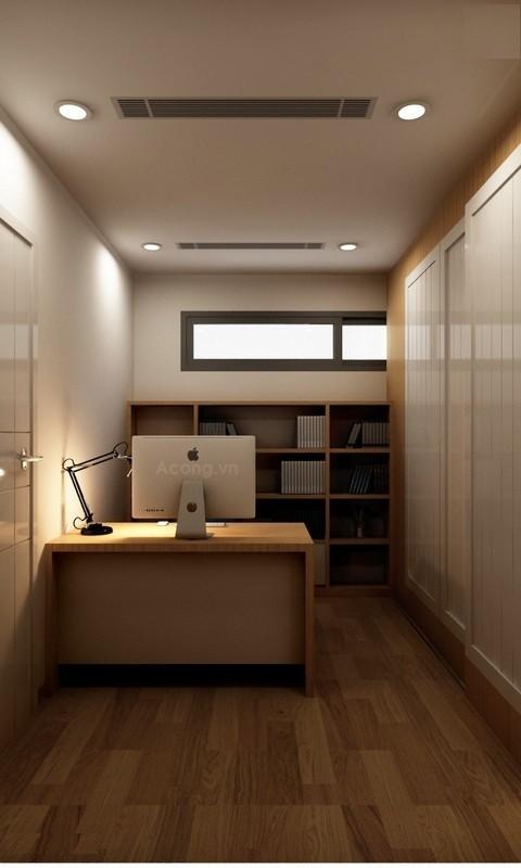 Căn hộ hơn 110m2 thiết kế tiền phòng 'gắn' tủ âm tường - ảnh 14